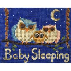 AP 2668 Baby Sleeping Owls