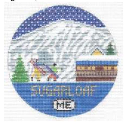 Doolittle Ski Rounds 18 mesh Sugarloaf