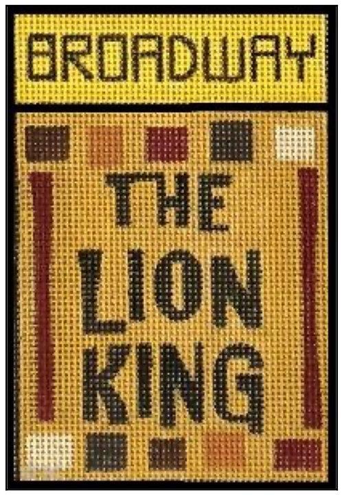 Raymond Crawford Playbill -Lion King