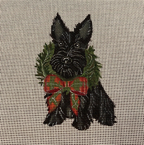 Danielle Murray DMDG01A Holiday Scottie Ornament