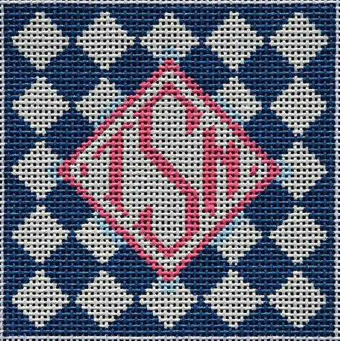 Two Sisters Monogram Square Insert