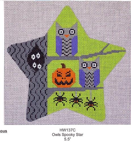 Eye Candy HW137C Owls  Spooky Star