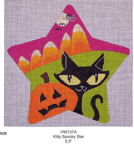 Eye Candy HW137A Kitty Spooky Star