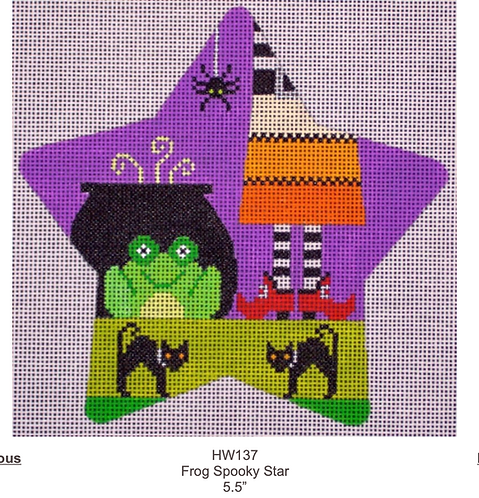 Eye Candy HW137 Frog Spooky Star
