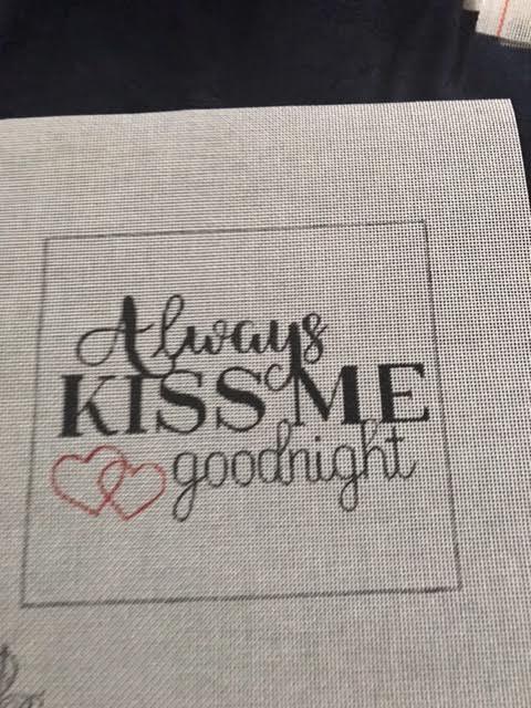 Pink Petals Always Kiss Me Goodnight