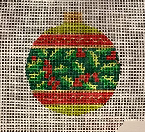 KB 1524 Christmas Holly Ornament