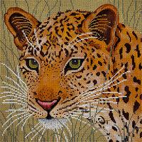 JP Needlepoint Leopard in Grass A-106