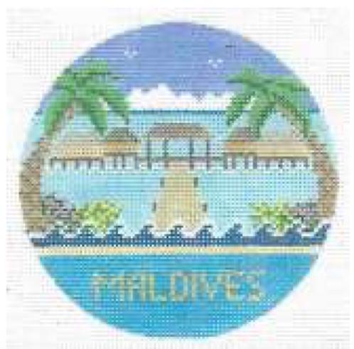 Doolittle Destination Rounds 18 mesh Maldives