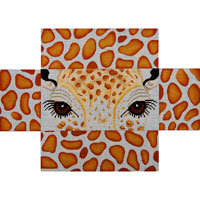 JP Needlepoint Playful Giraffe Eyes and Skins BC-045