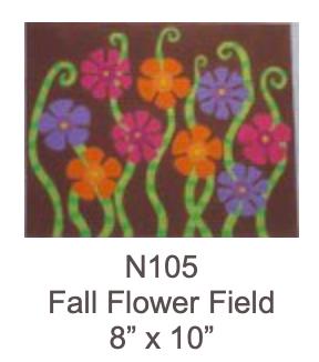 Eye Candy N105 Flower Fields - Fall
