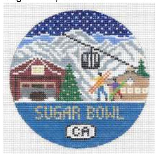 Doolittle Ski Rounds 18 mesh Sugar Bowl