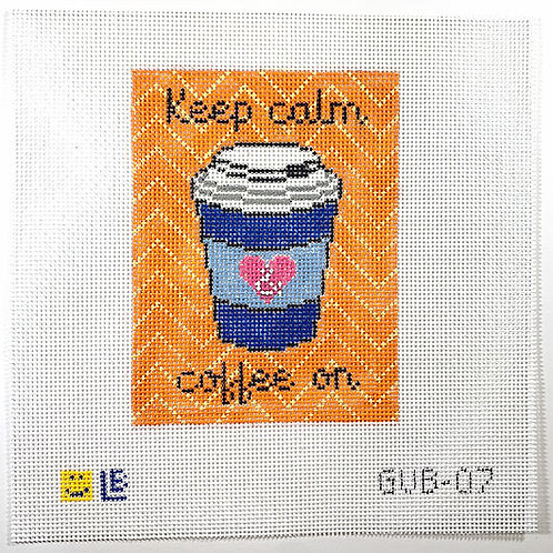 Lauren Bloch Keep Calm and Coffee On