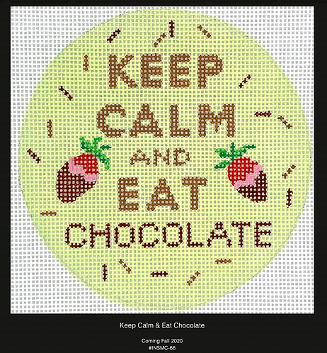 Kate Dickerson Keep Calm and Eat Chocolate
