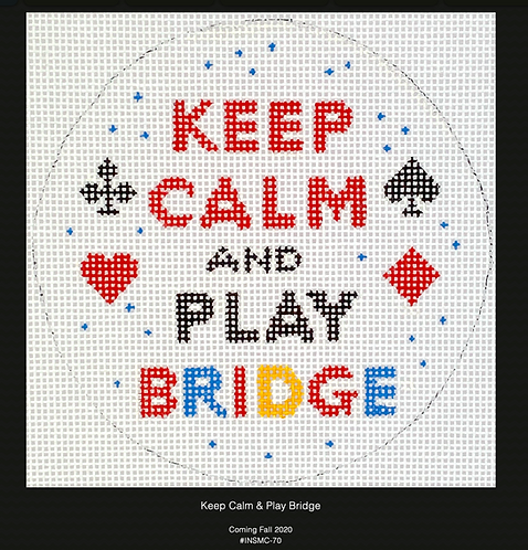 Kate Dickerson Keep Calm and Play Bridge