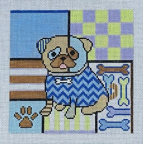 Sew Much Fun Colorful Small Dog
