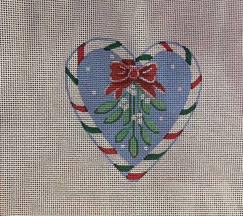 Pepperberry Mistletoe Heart CCH01