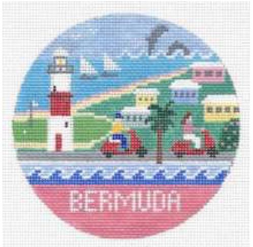Doolittle Destination Rounds 18 mesh Bermuda