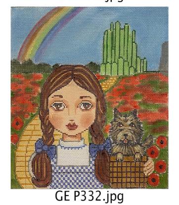 Gayla Elliott Dorothy of Oz Portrait GE P333 18 mesh