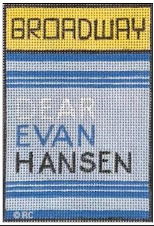 Raymond Crawford Playbill - Dear Evan Hansen