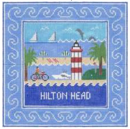 Doolittle Destination Squares 13 mesh Hilton Head
