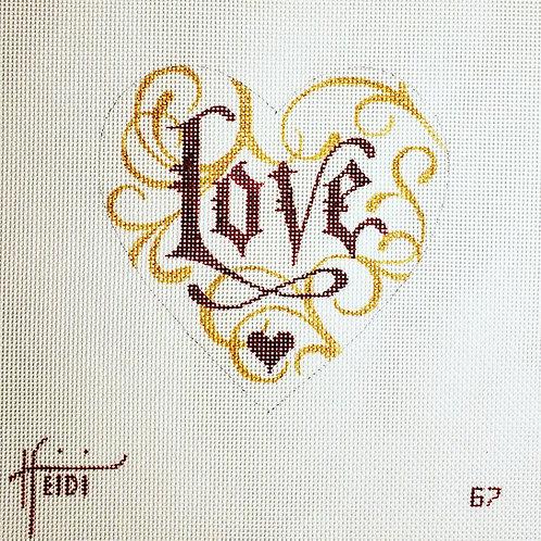 Heidi 67 Love Heart