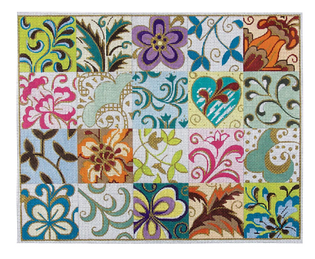 AP 2058 Patchwork Collage