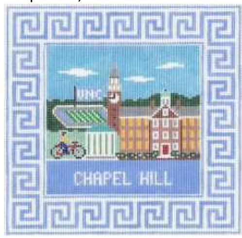 Doolittle Destination Squares 13 mesh Chapel Hill