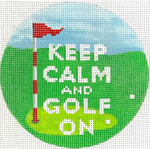 Kate Dickerson Keep Calm and Golf On