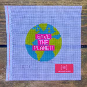 Stitch Rock Designs Save the Planet