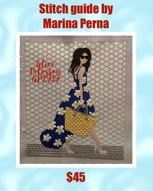 Marina Perna Stitch Guide Alice Peterson AP2939