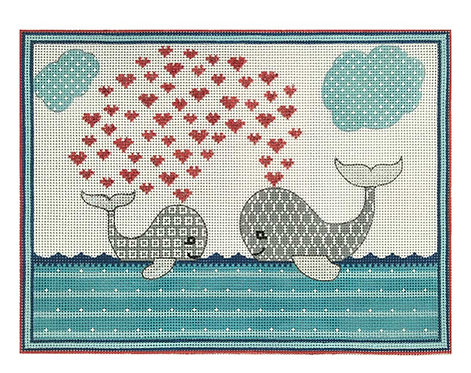 AP3692 Whale Love Birth Announcement