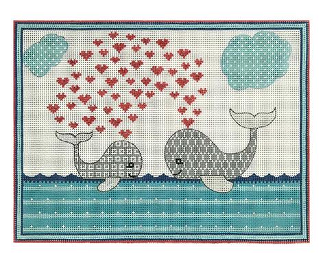 AP3692 Whale Love Birth Announcement