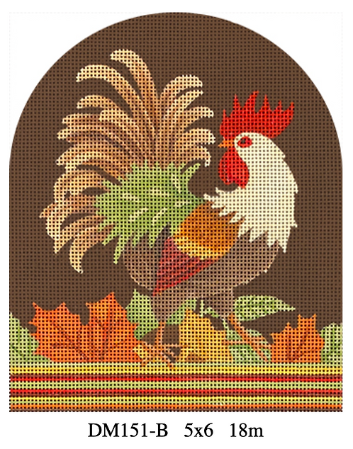 Melissa Shirley DM151-B Rooster with Beige Neck
