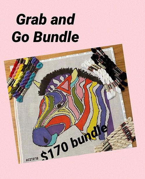 Grab and Go Zebra Bundle