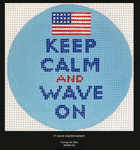 Kate Dickerson Keep Calm and Wave On