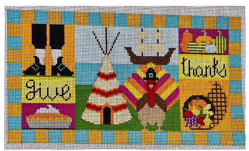 Eye Candy  HO 300 Thanksgiving Collage 18 mesh