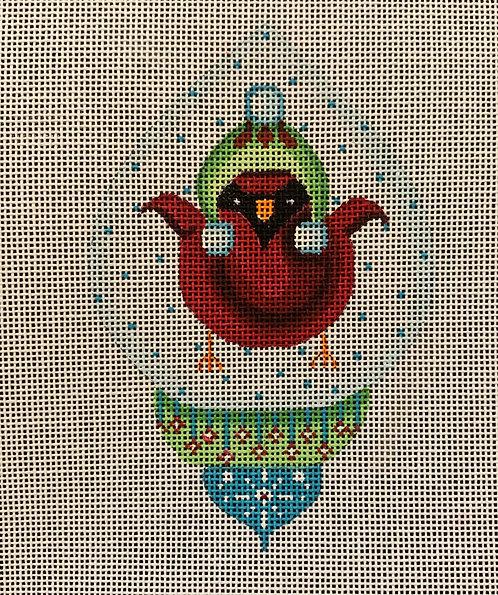 Heidi 217 Cardinal Ornament