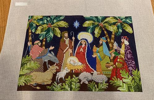 Kirk and Bradley Nativity 18 mesh