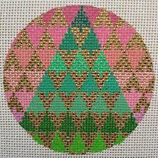 TEW Christmas Tree Bargello 18 mesh