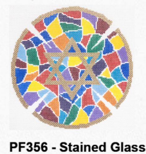 PF356 Stained Glass  Kepah - Jewel Tones