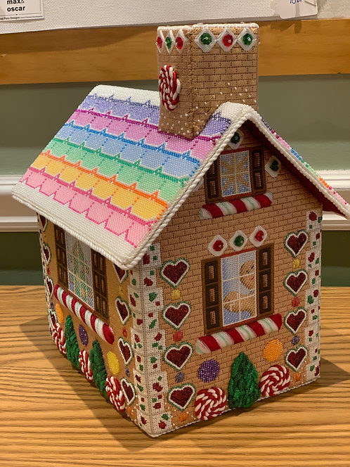 Rebecca Wood Gingerbread House