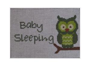 J Child Owl Baby Sleeping DHG 227