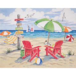 AP 2805 Beach Scene