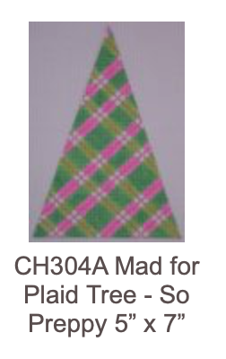 Eye Candy CH304A Preppy Plaid Tree