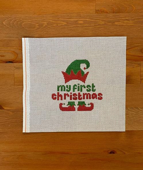 Ziggy Stitches My First Christmas Elf
