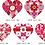 Thumbnail: Melissa Shirley 2264-B Quilt Heart