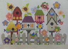 ND 333 Deeva's Birdhouse Garden