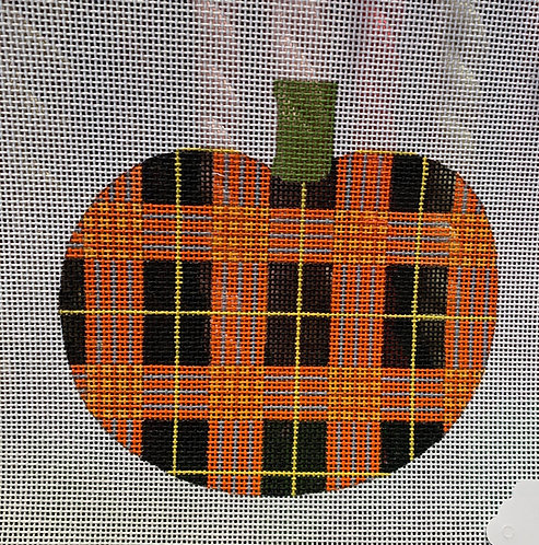 Patty Paints H39 Medium Plaid Pumpkin 18 mesh