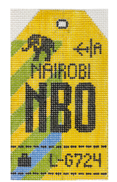 HedgeHog NBO Nairobi Travel Tag