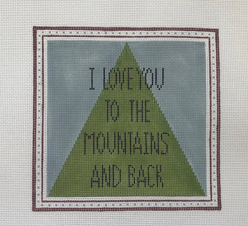 Pewter & Pine I love you to the Mountains